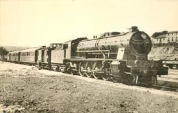 Thème Train Locomotives Espagnoles (M Z A) Mountain N°1707 CP Ed. H.M.P. N°896 Locomotive Vapeur - Trenes