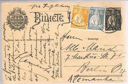 Portugal, 1929, Para Berlin - 1910-... République