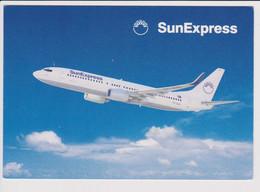 Vintage Rppc SunExpress Boeing 737 Aircraft - 1919-1938: Between Wars