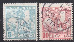BELGIEN BELGIUM [1910] MiNr 0081 I Ex ( O/used ) [01] - 1910-1911 Caritas
