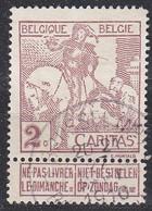 BELGIEN BELGIUM [1910] MiNr 0082 I ( O/used ) - 1910-1911 Caritas