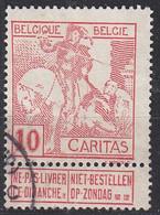 BELGIEN BELGIUM [1910] MiNr 0084 I ( O/used ) - 1910-1911 Caritas