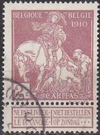 BELGIEN BELGIUM [1910] MiNr 0086 I ( O/used ) - 1910-1911 Caritas