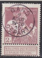 BELGIEN BELGIUM [1910] MiNr 0086 I ( O/used ) [01] - 1910-1911 Caritas