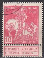 BELGIEN BELGIUM [1910] MiNr 0088 I ( O/used ) - 1910-1911 Caritas