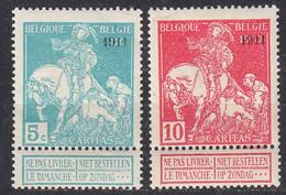 BELGIEN BELGIUM [1911] MiNr 0081 II Ex ( */mh ) [01] - 1910-1911 Caritas