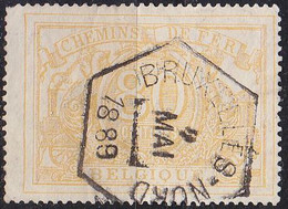 BELGIEN BELGIUM [Eisenbahn] MiNr 0012 A ( O/used ) - Usati
