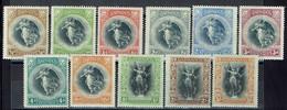 Barbade - 1920 - Série N° 117/127 - Neufs X Avec Traces De Charnières Propres - Filigrane CA Multiple - TB - - Barbados (...-1966)