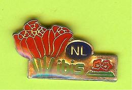 Pin's NL Ibis Fleurs - 5D28 - Pin's
