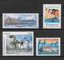 FRANCE - Yvert  N° 4454-1491-4492-4495** - Neufs