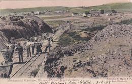 482311Diamond Mine, Mechanical Haulage, Jagersfontein. 1907.(see Corners) - Afrique Du Sud