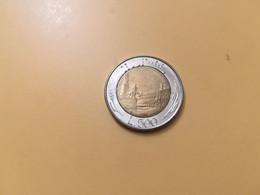 MONETA COINS ITALIA ITALY REPUBBLICA ITALIANA 500 LIRE 1983 BIMETALLICA BUONA CONSERVAZIONE CIRCOLATA CIRCULATE - 500 Lire