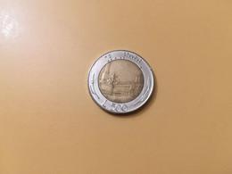 MONETA COINS ITALIA ITALY REPUBBLICA ITALIANA 500 LIRE 1986 BIMETALLICA BUONA CONSERVAZIONE CIRCOLATA CIRCULATE - 500 Lire
