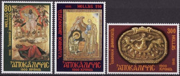Greece, 1995, Michel 1884-1886, The Revelation Of Johannes, 3v, MNH - Greece