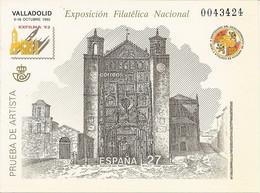 España Prueba Oficial  Edifil 27  Exfilna'92  Valladolid  1992  NL787 - 1931-Hoy: 2ª República - ... Juan Carlos I