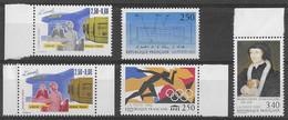FRANCE N°2736,2743,2744,2745 Et 46 ** Neufs Sans Charnière Luxe MNH - France