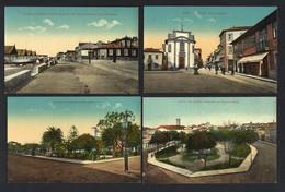 Conjunto De 4 Postais Antigos De: POVOA De VARZIM Union Postale Universelle. Lot Of 4 Old Postcards (Porto) PORTUGAL - Porto