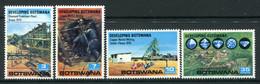 Botswana 1970 Developing Botswana Set MNH (SG 261-264) - Botswana (1966-...)