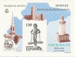 España Prueba Oficial  Edifil 35 Exfilna'95  Málaga  1995  NL797 - 1931-Hoy: 2ª República - ... Juan Carlos I