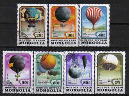 Mongolia 1982 Balloons Y.T. A 145/151 (0) - Mongolia