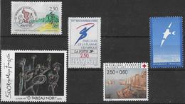 FRANCE N°2731,2732,2733,2734 Et 2735 **  Neufs Sans Charnière Luxe MNH - France