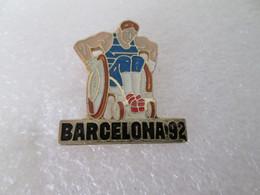PIN'S   SPORT  HANDICAPE  BARCELONA 1992 - Pin's & Anstecknadeln