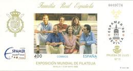 España Prueba Oficial  Edifil 58  Espamer'96  Sevilla  1996  NL748 - 1931-Hoy: 2ª República - ... Juan Carlos I