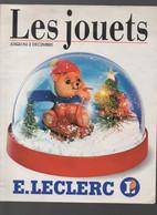 (jouets) Catalogue Noël 1989  LECLERC (CAT 1996) - Pubblicitari
