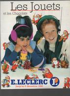 (jouets) Catalogue Noël 1990  LECLERC (CAT 1997) - Pubblicitari