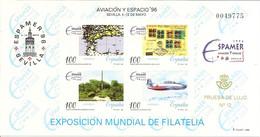 España Prueba Oficial  Edifil 59  Exposición Espacio'96  Sevilla  1996  NL767 - 1931-Hoy: 2ª República - ... Juan Carlos I