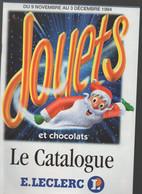 (jouets) Catalogue Noël 1994  LECLERC (CAT 2001) - Pubblicitari