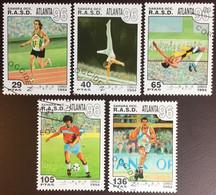 Sahara 1996 Olympic Games CTO - Timbres