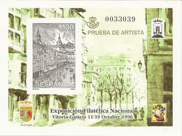 España Prueba Oficial  Edifil 61 Exfilna'96  Vitoria  1996  NL775 - 1931-Hoy: 2ª República - ... Juan Carlos I