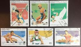 Sahara 1995 Olympic Games CTO - Timbres
