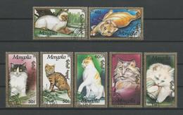 Mongolia 1991 Cats  Y.T. 1890/1896 (0) - Mongolia