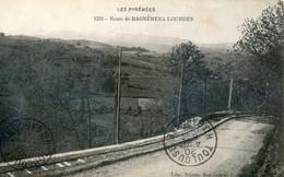 65 - Route De Bagnères à Lourdes - Voie Ferrée - Bagneres De Bigorre