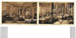 AIX LES BAINS   Hôtel COSMOPOLITAIN   Dépliant Publicitaire Recto-verso - Aix Les Bains