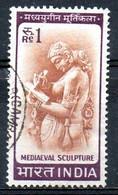 INDE. N°194 Oblitéré De 1965-6. Sculpture Médiévale. - Astrology