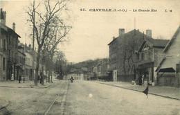 HAUTS DE SEINE  CHAVILLE  La Grande Rue - Chaville