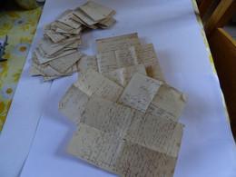 Lot De Lettres De 1915 A 1950 Environs Quelques Unes De Prisonniers Soldats   Bon état Dans L'ensemble - Old Paper