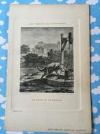 Les Fables De La Fontaine Par Oudry Les Nouvelles Galeries Le Loup Et Le Renard - Sonstige