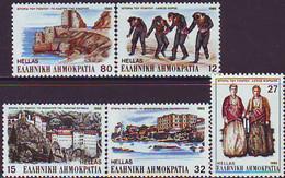 Greece,1985, Michel 1603-1607, Tourism, 5v, MNH - Greece