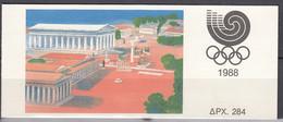 GRIECHENLAND MH 9, Postfrisch **,Olympische Sommerspiele Seoul1988 - Booklets