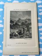 Les Fables De La Fontaine Par Oudry Les Nouvelles Galeries La Ligue Des Rats - Other