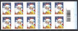 Belgique Cob Carnet B58 Adhésifs, Le Père Noël  ** - Weihnachten