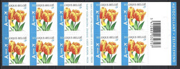 Belgique Cob Carnet B54 Adhésifs -A. Buzin-Fleurs, Tulipe D'Arwin Hybride ** - Other