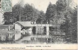 (01)   52      Droyes    Le Pont-neuf - Francia