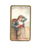Chromo - Biscuits & Gâteaux Peek, Frean & Cie, Londres - Calendrier 1889 (50 X 88mm) - Sonstige
