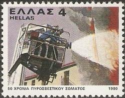 Greece,1980, Michel 1415, 50 Fire Brigade, 1v, MNH - Greece