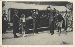 Themes Div-ref FF624-carte Photo -au Col D Aspin - Plan Voiture Automobile - 1934- - Ohne Zuordnung